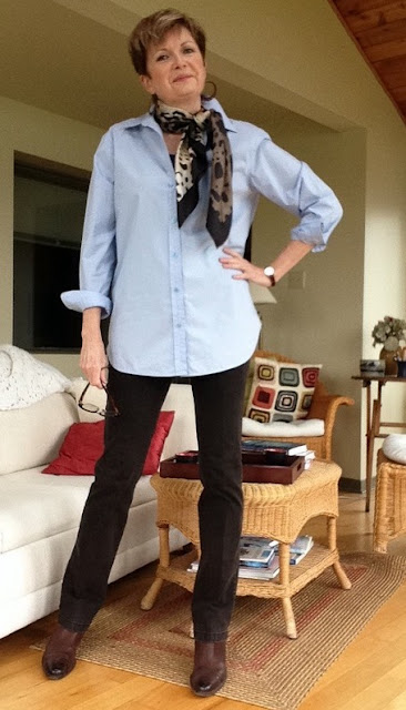Equipment shirt, Paige skinny jeans, Paul Green boots