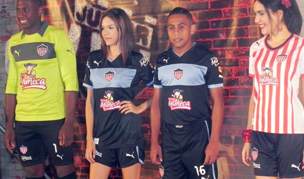 El nuevo uniforme de Atlético Junior 2012-2013