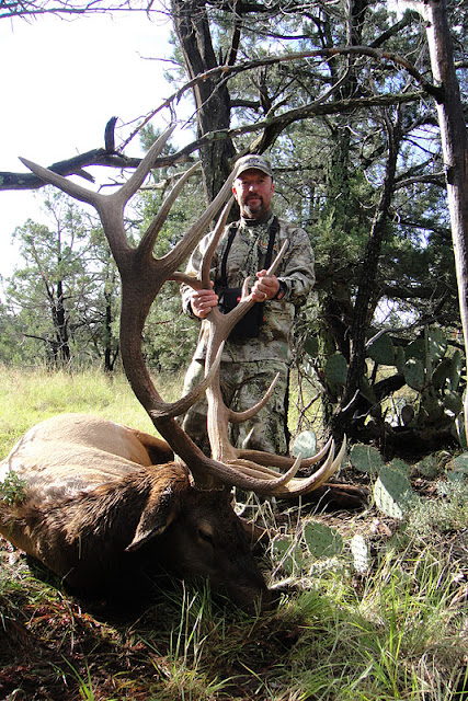 Todd Brooks Arizona Archery Elk Picture with Colburn and Scott Outfitters 6