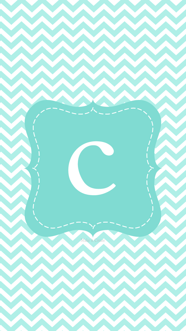 c initial chevron wallpaper - photo #11