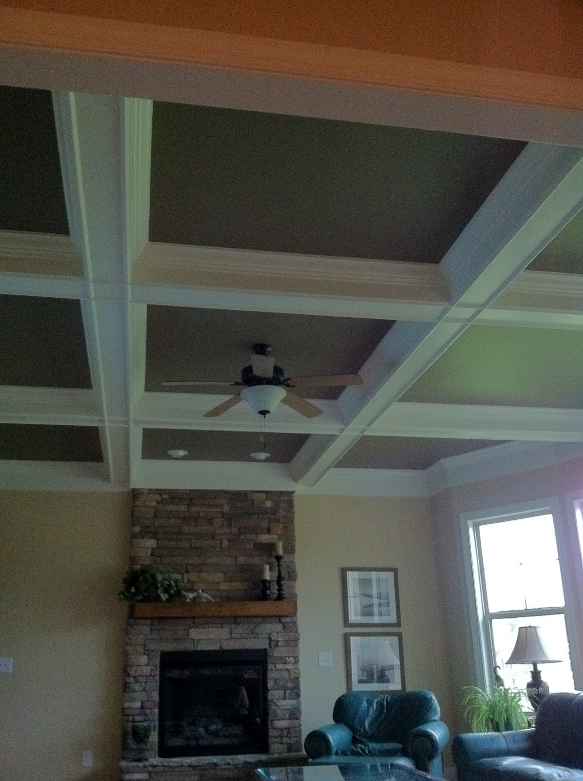Carol Beck Interiors: Coffered Ceilings...Design On The Ceiling