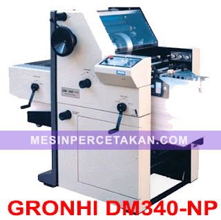Gronhi DM340 | Mesin Nomorator-Perforator