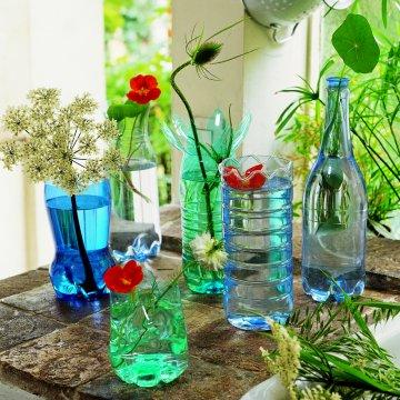 Communiquer avec nous une id e de bricolage pour des jolies plantes - Bricolage avec des bouteilles en plastique ...