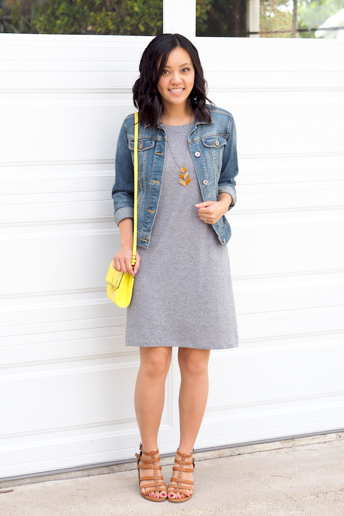 How to style a jersey dress