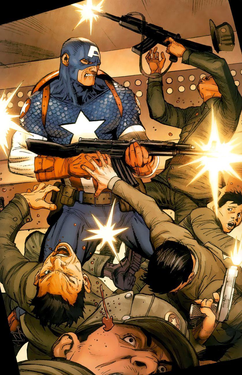 Ultimate Captain America chap 1 - Trang 14
