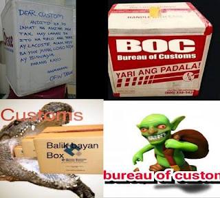 Balikbayan Box Memes of OFW and BOC