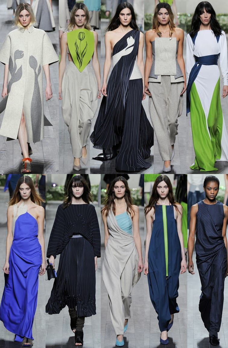 Vionnet fall winter 2014 runway collection, PFW, Paris fashion week, FW14, AW14