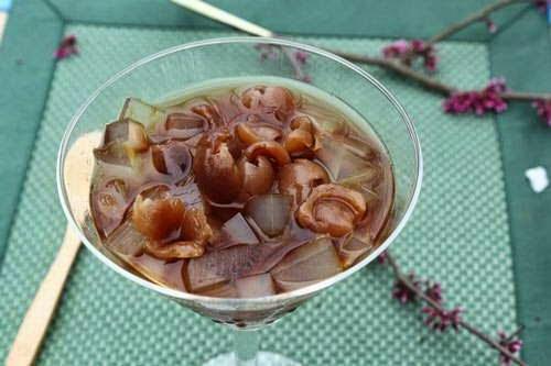 Vietnamese Food - Chè Rau Câu và Nhãn Khô