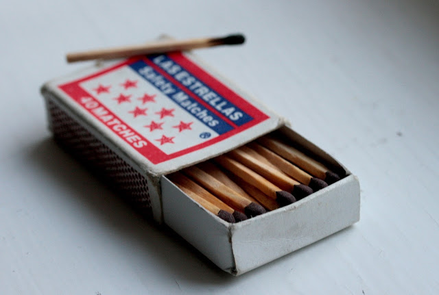 las estrellas safety matches from croatia