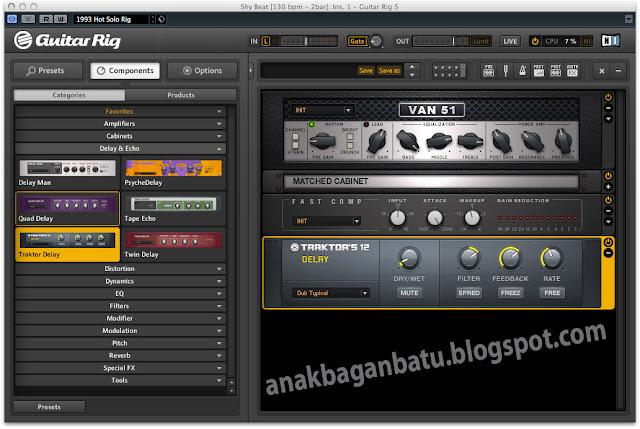 Guitar Rig 5 Pro 520 Full Version + Reg Serial Key