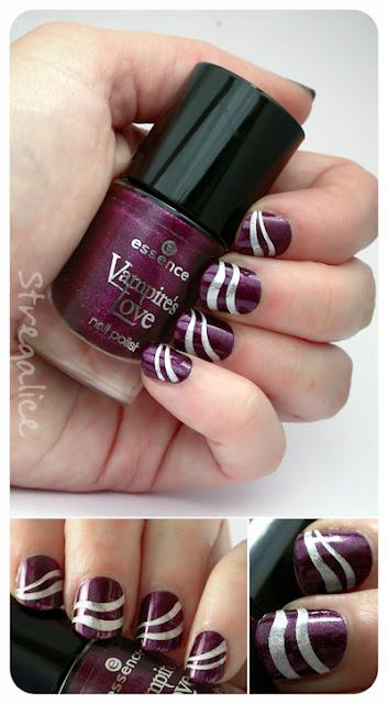 Essence True Love & Layla Mercury Twilight nail-art