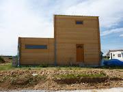 Surélévation en ossature bois . Architecte Maison Bois - Paris - Alsace sure cc le cc vation maison bois