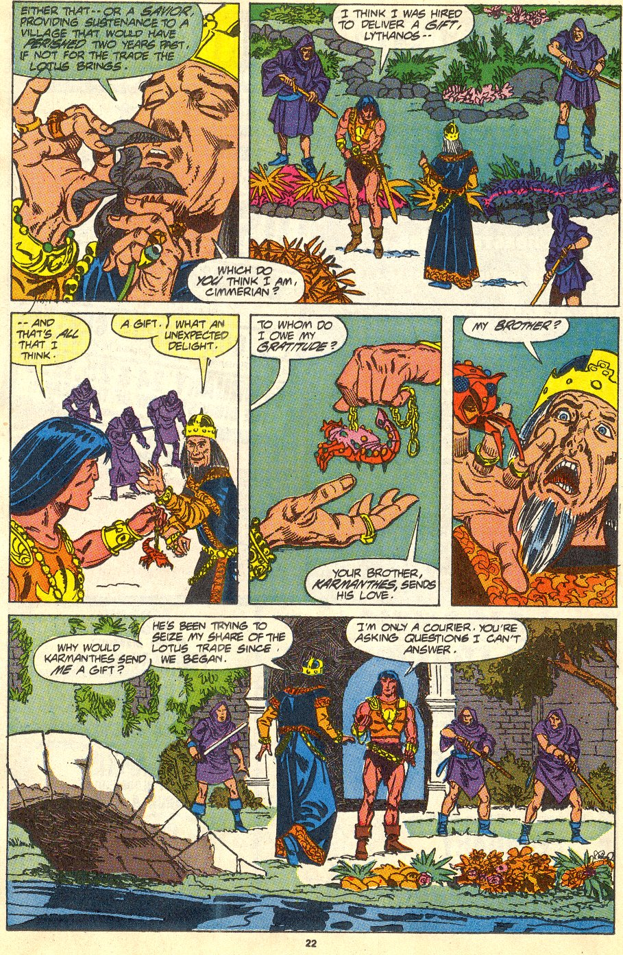 Conan the Barbarian (1970) Issue #230 #242 - English 18
