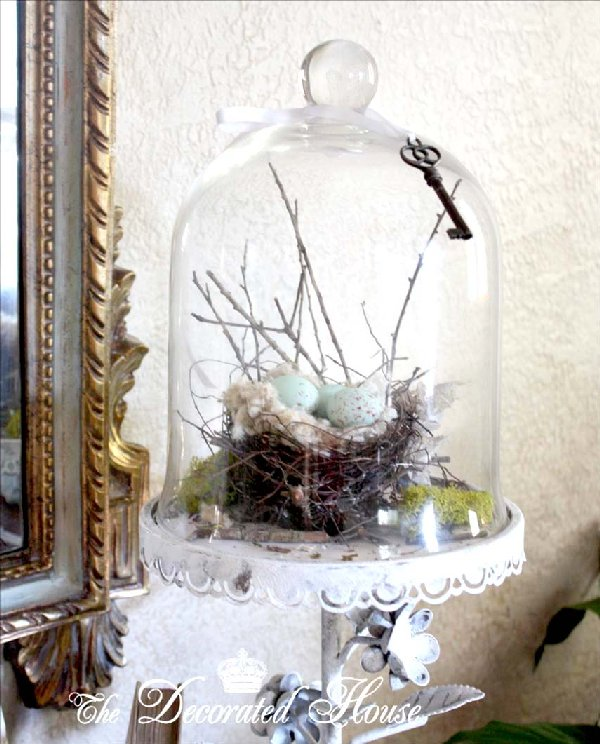 The decorated house the bell jar cloche party for Bell jar ideas