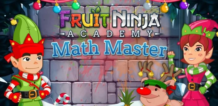 Fruit Ninja Math Master Android APK DATA İndir - androidliyim
