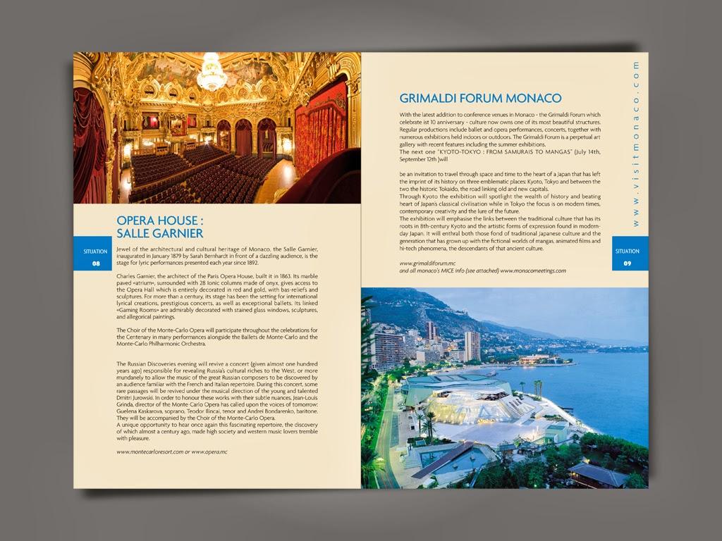Ifk design graphic designer office du tourisme monaco brochure monaco hiver suppl ment en - Office du tourisme en anglais ...