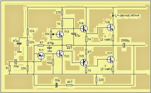 Build A Simple 10 Watt Power Amplifier Circuit Diagram