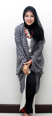 Contoh model hijab artis indonesia masa kini
