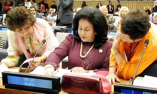 Rosmah Shares Malaysia s Initiatives In Empowering Women