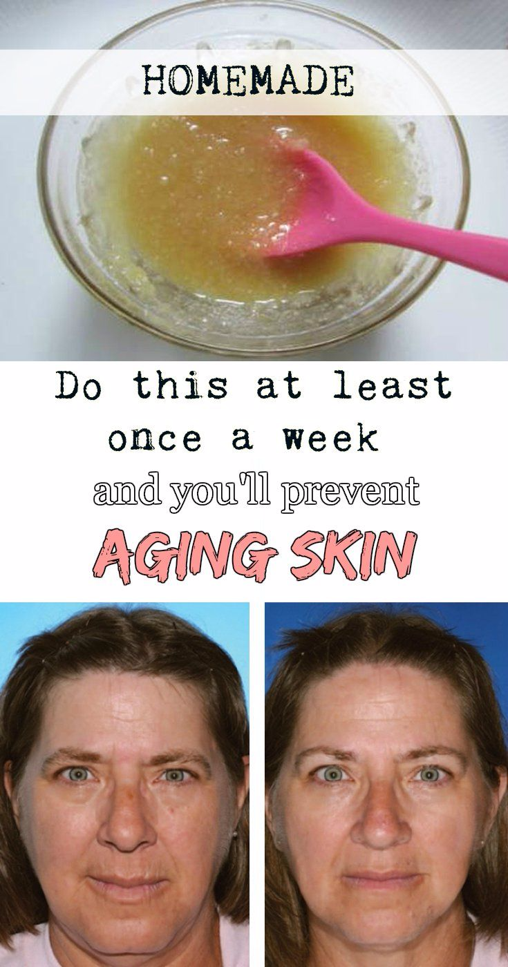 Do this at least once a week and you'll prevent aging skin!