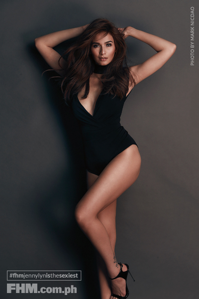 Jennylyn Mercado FHM January 2016 Cover Girl