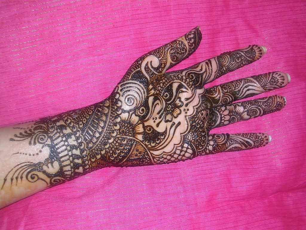 Mehndi Designs Latest Images : Mehndi designs for hands latest marwari
