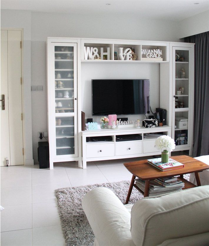 Hogar diez serie ikea hemnes en tu sal n for B q living room units