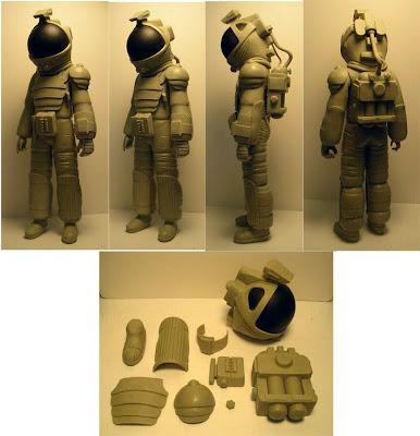 NECA Alien 1979 Nostromo Space Suit Figure - Wax Prototype