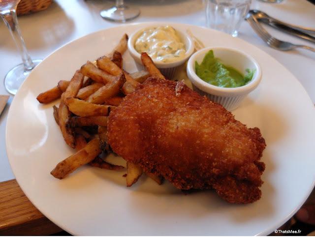 fish and chips du Centreville, Restaurant à Paris 11ème  charonne Keller