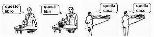 aggettivi e pronomi dimostrativi