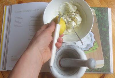 Zubereitung Lavendelpaste mit Zitronen