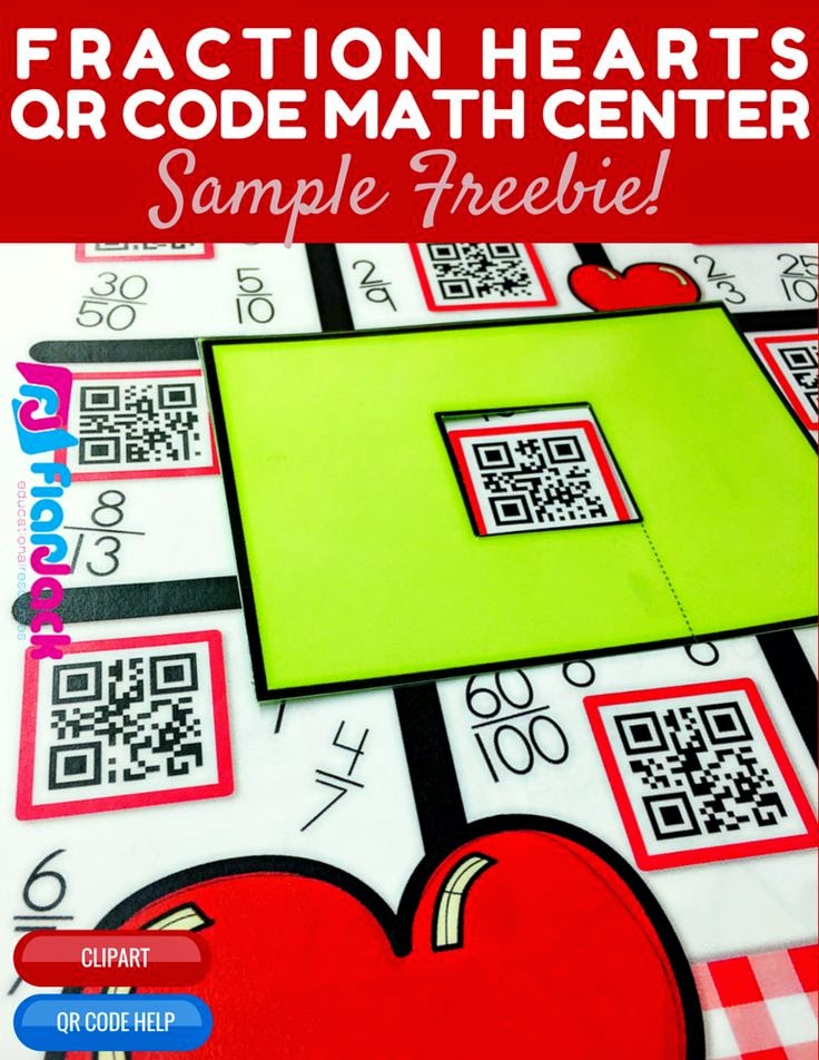 https://www.teacherspayteachers.com/Product/Comparing-Fractions-Heart-Themed-QR-Code-Math-Center-FREEBIE-1676863