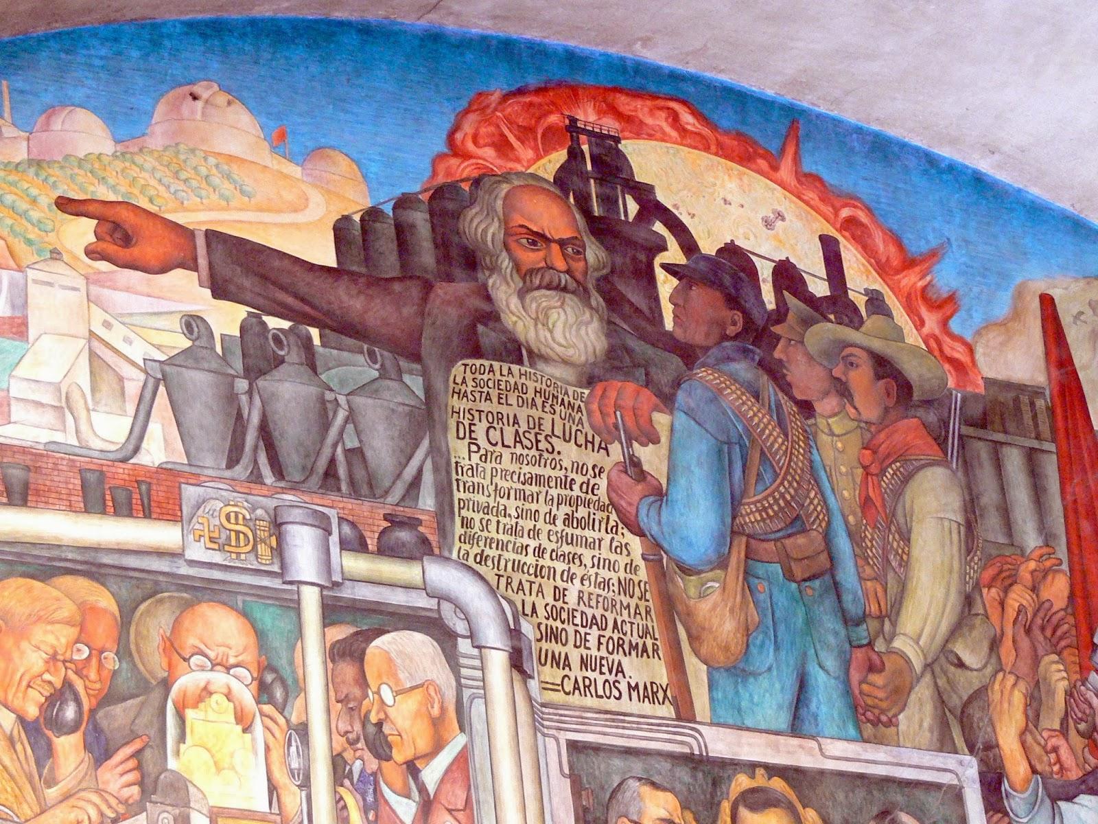 Ngara marx karl marx en m xico entre la revoluci n y for Caracteristicas de un mural