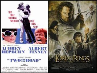 Dos en la carretera / El señor de los anillos