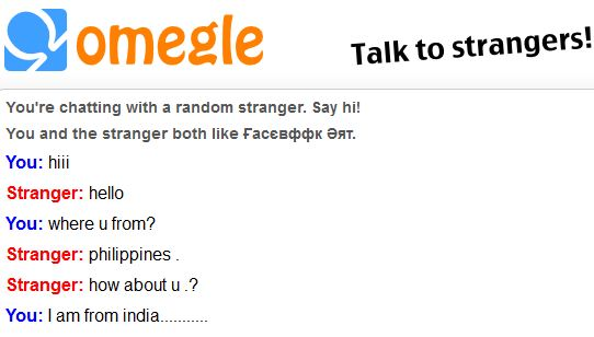 free stranger chat like omegle