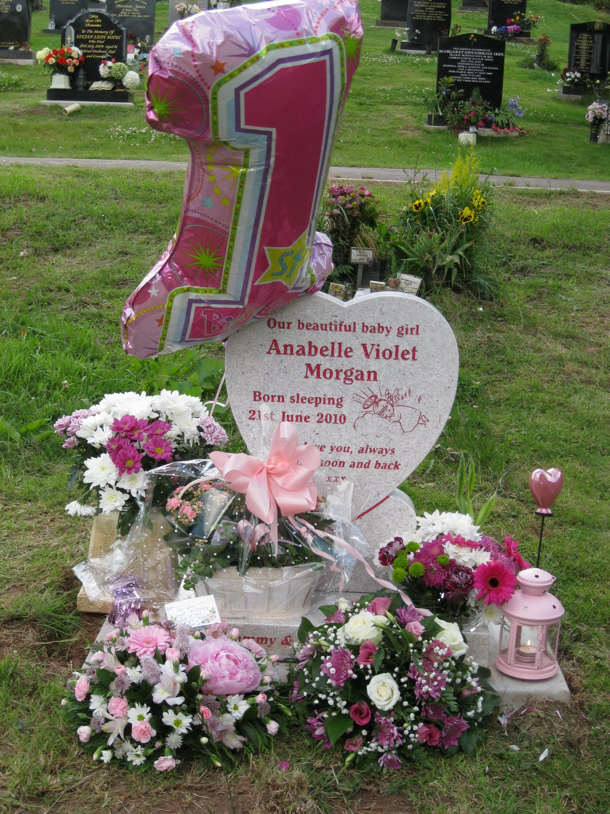 After anabelle happy 1st birthday belle beautiful pinkified garden for belles birthday izmirmasajfo