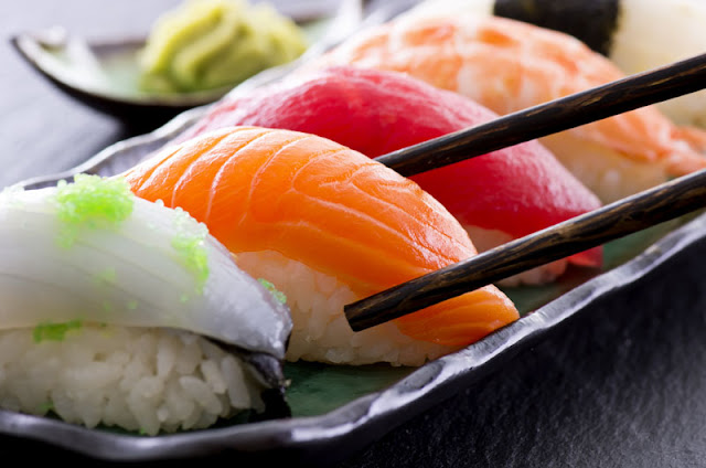 Sushi tram
