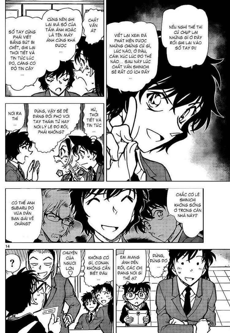 Detective Conan - Thám Tử Lừng Danh Conan chap 812 page 16 - IZTruyenTranh.com