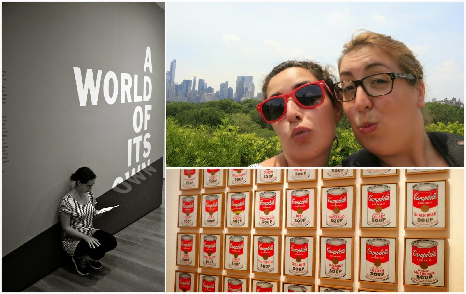 De museus: MOMA i MET