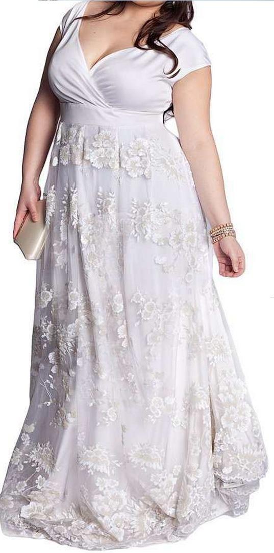 Vestidos de novia para gordas muy gorditas