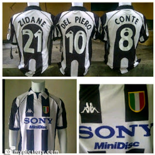 gambar jersey retro juventus cente sony, grade ori, 2005/2006, 2007/2008/ grade aaa, harga murah, grosir, online retro 1991/1992