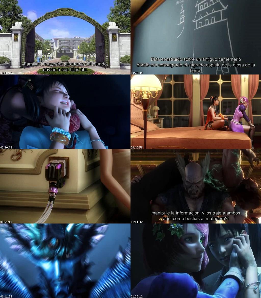 Tekken: Blood Vengeance (2011) [DVDRip] [Sub. Español]