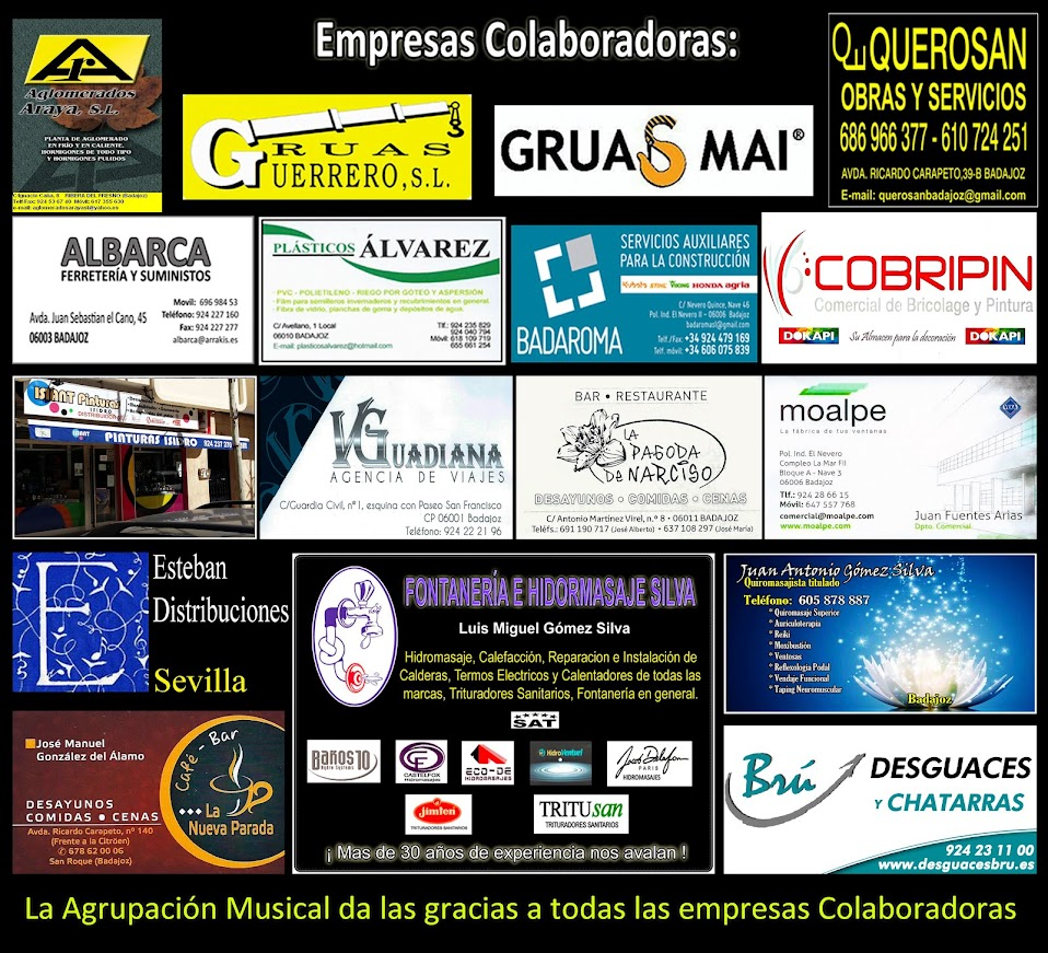 Empresas Colaboradoras 2018