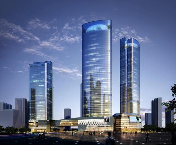 Projet de construction de tours jumelles de  cent-onze étages à Phnom Penh