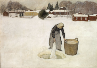 Washing on the Ice Pekka Halonen