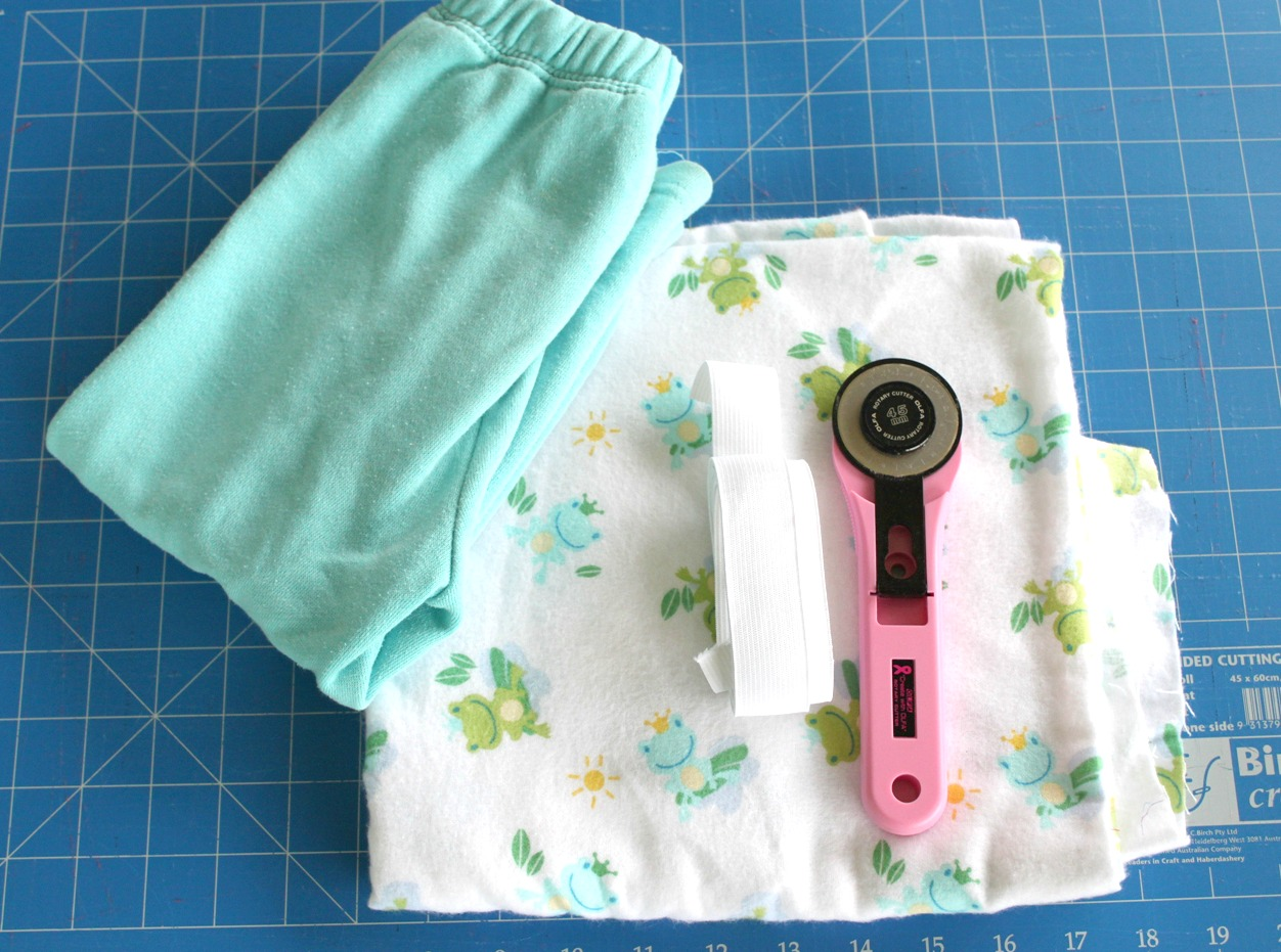 Quick easy kids pants tutorial sew delicious for Children s material sewing