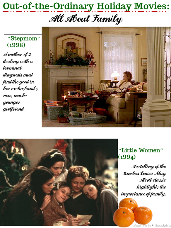 out of the ordinary holiday movies_all about family via Meet Me in Philadelphia