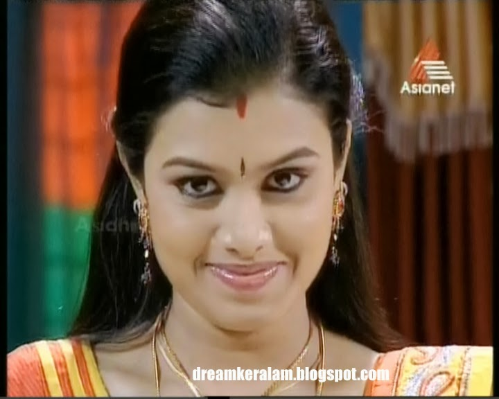 sonu is a very beautiful actress in malayalam television serials sonu