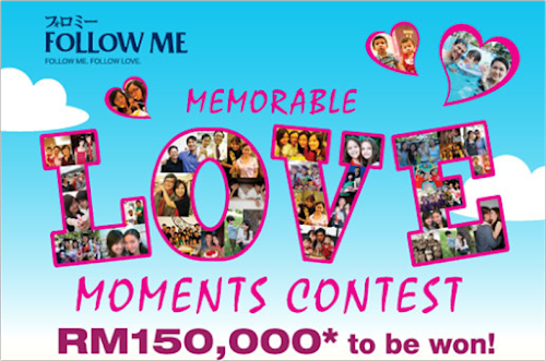 Follow Me 'Memorable Love Moments' Contest