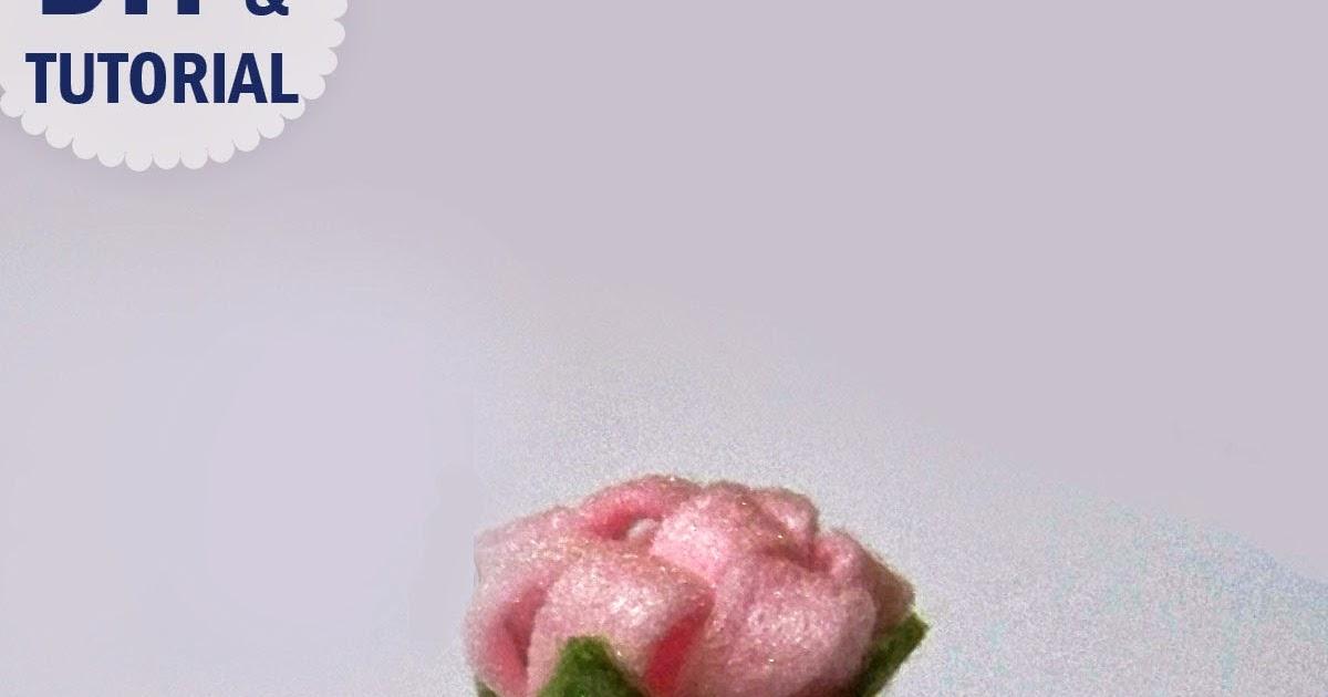 HOBBYBEL Creativit TUTORIAL FIORE DI FELTRO FACILE DIY FELT FLOWER